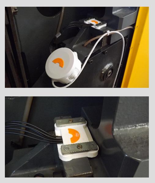 wireless vibration sensor AU03-55C8G